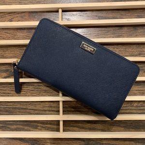 Kate Spade Laurel Way Neda zip around long wallet